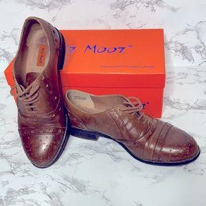 Miz Mooz Monaco Whiskey Oxford Cognac leather 7.5